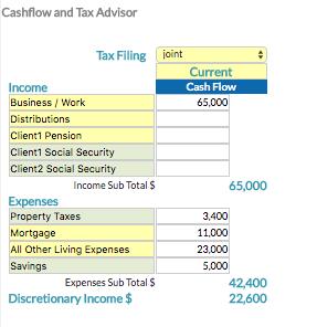 Cashflow-and-Tax-Advisor-Software